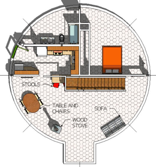 Dome Home Plans: Real Working Drawings