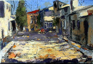 secret of palette knife oil painting