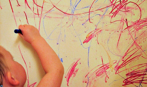 Moms Angels: Is your Child Coloring Walls?